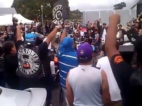 Black Power Gang's Funeral.