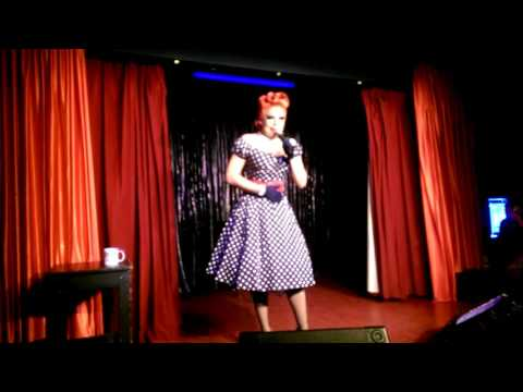 La Voix performing live at the Royal Vauxhall Tavern, London, 6 December 2015