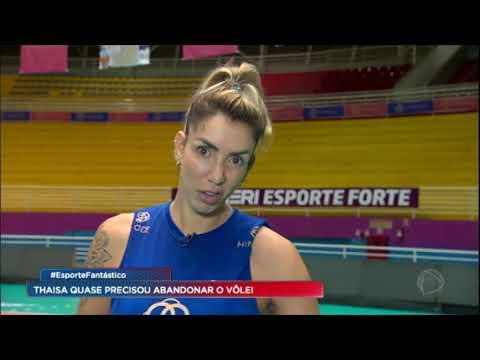 Bicampeã olímpica, Thaísa volta às quadras do vôlei após lesão