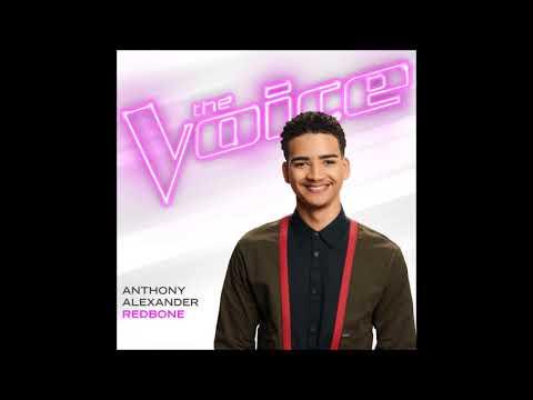 Anthony Alexander  Redbone  Studio Version  The Voice 13
