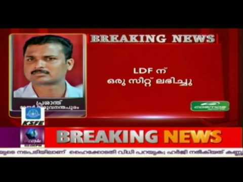 Congress-BJP Pact In Trivandrum Corporation Elections