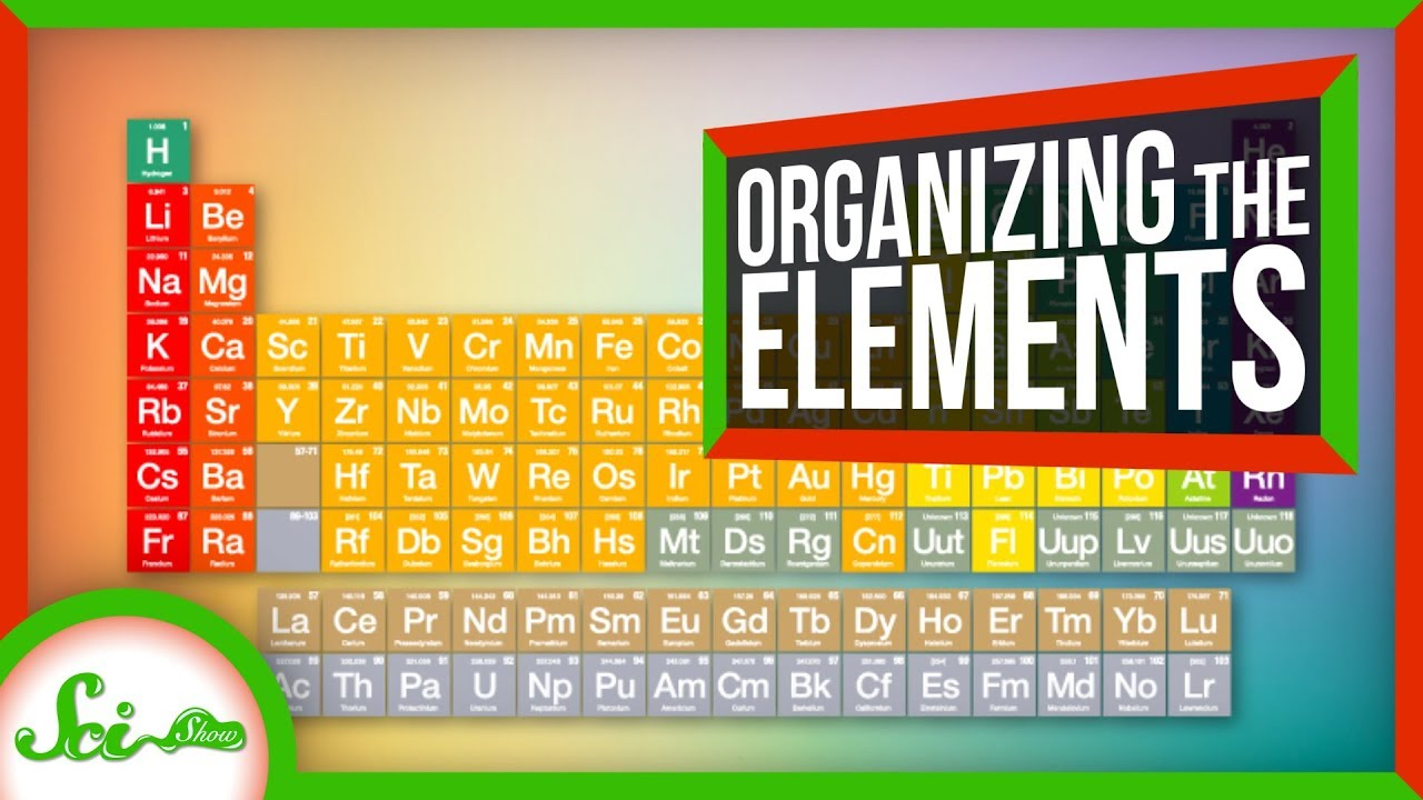 5 Periodic Tables We Don't Use (And One We Do)