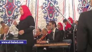بالفيديو وبالصور.. وزير الثقافة يشهد عروضا فنية بقصر نعمان عاشور في الدقهلية