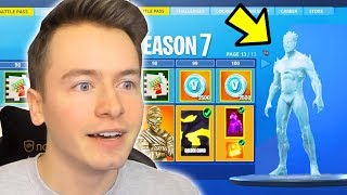 SEASON 7 IS HERE !! BUY BATTLE PASS + NEW MAP ! Fortnite