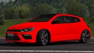 [1.32] Euro Truck Simulator 2 | Volkswagen Scirocco R | Mods