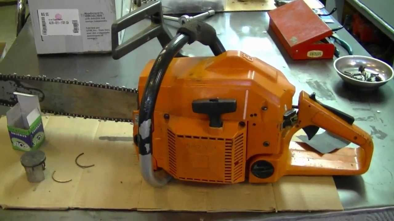husqvarna 55 chainsaw repair manual