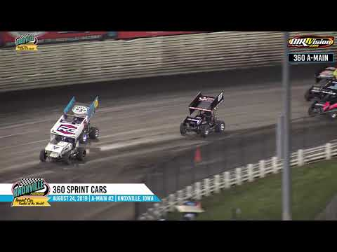 Knoxville Raceway 360 Highlights #2 - August 24, 2019