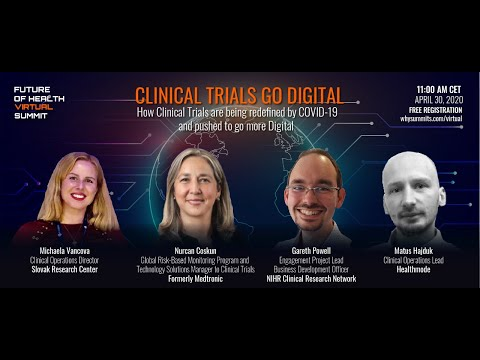 Clinical Trials Redefined By COVID-19 & Pushed to Go Digital | Expert Panel Discussion