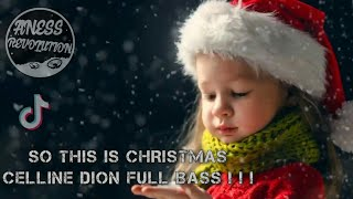 Download lagu DJ SO THIS IS CHRISTMAS CELLINE DION FULL BASS!!! REMIX BY ANESS REVOLUTION