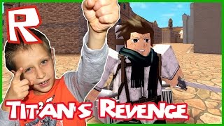 Attack on Titan / This Guy Needs to Learn! / Roblox