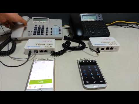 Dragino VoIP Solution 2  --  Link PBXs in different place