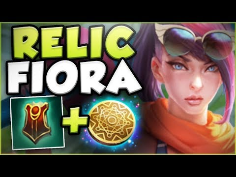 RELIC...ON FIORA?? THE REAL MONEY MAKING FIORA! FIORA SEASON 8 TOP GAMEPLAY! - League of Legends
