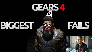 GEARS OF WAR 4 BIGGEST FAILS SPECIAL!! By Ess MooMooMiLK