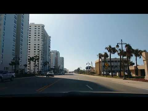 A Nice Drive From Daytona Beach To Ponce Inlet Florida
