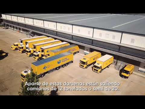 Así funciona el Centro Logístico de Correo Argentino en Buenos Aires