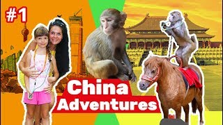 Chinese Adventures with KidsFunShow Visit Hainan Travel vlog China 1