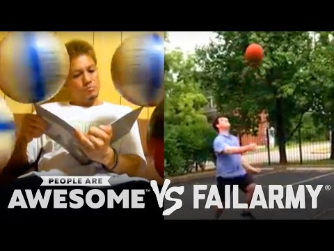Birds Attacking Cyclists, Basketballs to the Face & More   People Are Awesome Vs. FailArmy