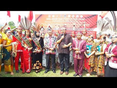 Testimoni Pemuka Agama Hindu Kaharingan Terkait Apel Akbar Kebangsaan