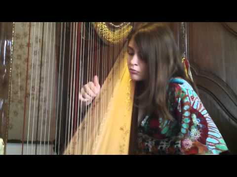 Pauline Haas (harp) plays Tchaikowski - October (the seasons) op.37a n°10