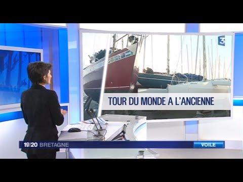 Bretagne France 3 19 20heure 12 01 2018 Loic Lepage Golden Globe Race
