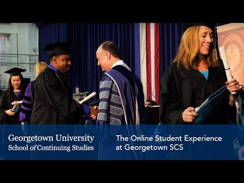 For Online Students | Georgetown SCS