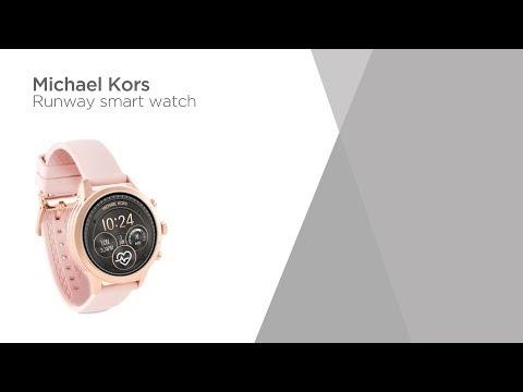 e2bec8cd3 Michael Kors Access Runway MKT5048 Smartwatch - Rose & Pink | Product  Overview | Currys PC World