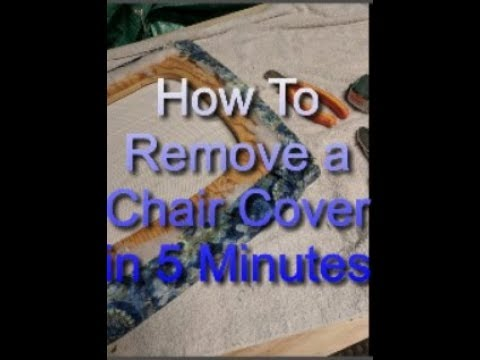 how-to-reupholster-dining-chairs---old-fabric-removal-in-5-minutes---youtube