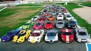 Los coches mas rapidos del mundo (veyron, slr, ferrari...
