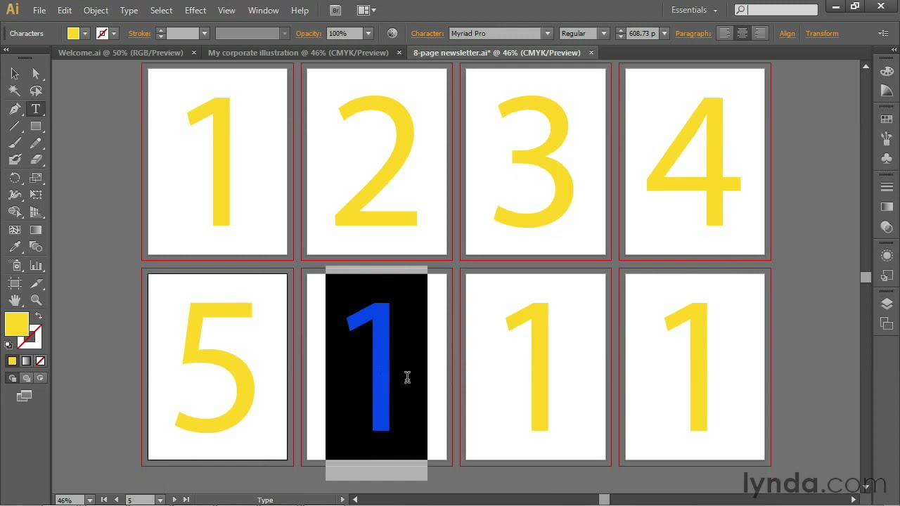 Illustrator Tutorial: Aligning Objects On Multiple