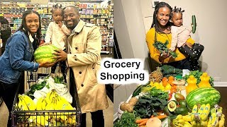 Come Shopping with us + Our Weekly Grocery Bill [High Raw Vegan Family]