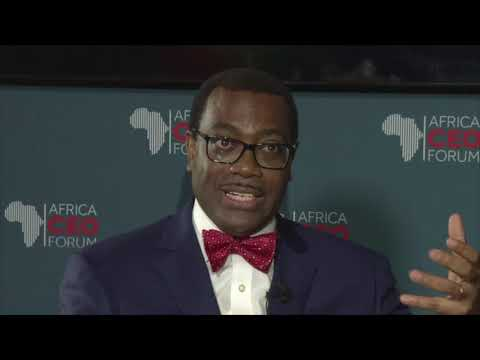 """Africa needs to move fast"" -- African Development Bank President Akinwumi Adesina"