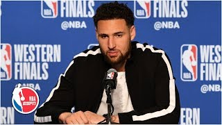 Klay Thompson never lost confidence in his shot in Warriors' Game 2 win | 2019 NBA Playoffs
