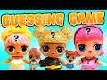LOL Surprise Dolls Glam Club Fashion Show Guessing Game! Featuring Glitter Series Queen Bee!