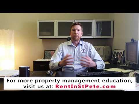 Responsibilities Of Property Management Companies In St Petersburg Fl