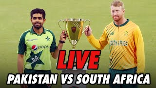 LIVE - Pakistan vs South Africa | 3rd T20I 2021 | PCB