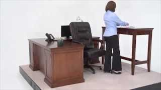 Standing Height Desk | NBF Statesman | National Business Furniture