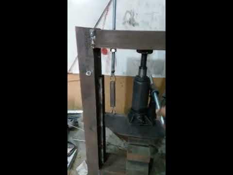 Press Brake Metal Bender DIY
