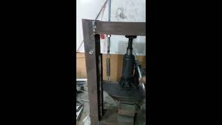 diy Press Brake Metal Bender