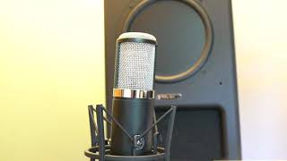 PART 2 AKG P820 TUBE microphone unpacking review test