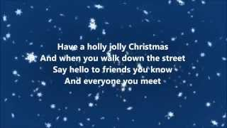 Burl Ives - Holly Jolly Christmas (Lyrics)