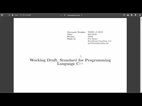C++ Tutorial [061] - standard GERMAN