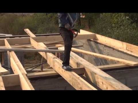 видео: Деревянное перекрытие