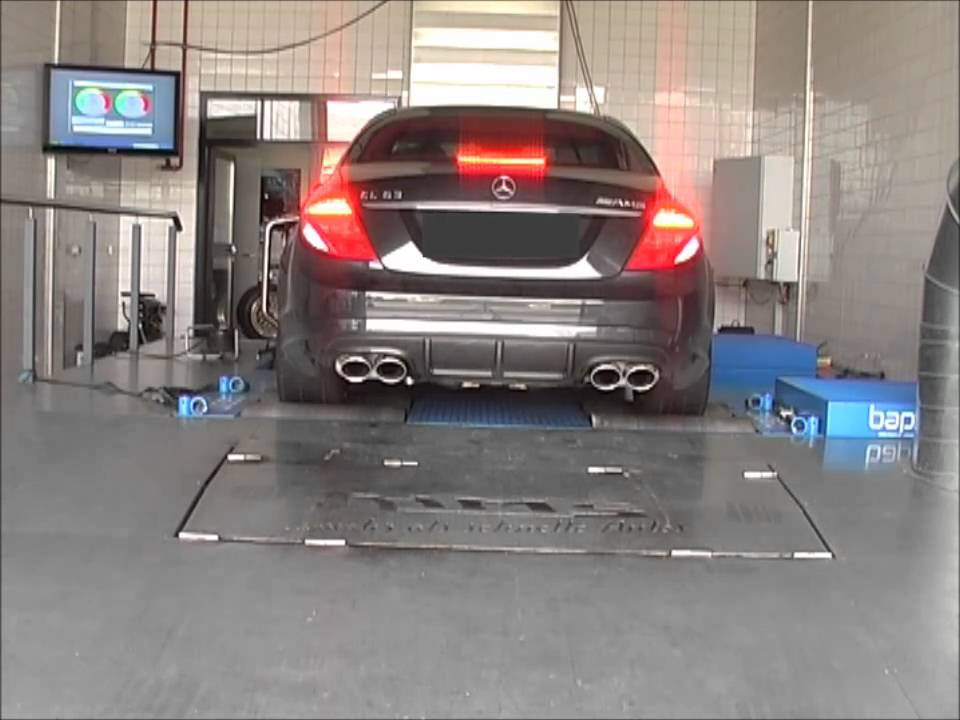 mercedes cl 63 mit hms tuning klappenabgasanlage youtube. Black Bedroom Furniture Sets. Home Design Ideas