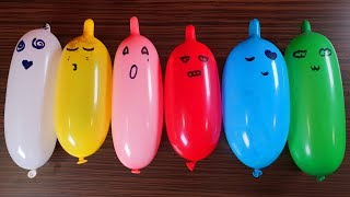 Fac Slime Pufos Cu Baloane Amuzante - Making Slime With Funny Balloons