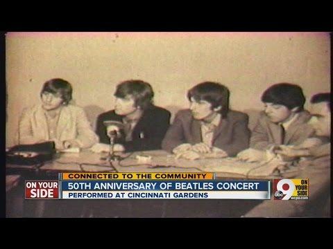 Beatles return to Cincinnati in 1966