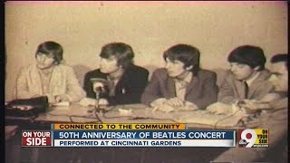 Beatles return to Cincinnati in 1966