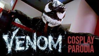 VENOM | Cosplay parodia en el estreno | Vlog #8 | ¡El Simbionte doo doo doo doo!