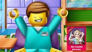 Лего Игры—Лего Эммет в больнице—Онлайн Видео Игры Для Детей Мультфильм 2015