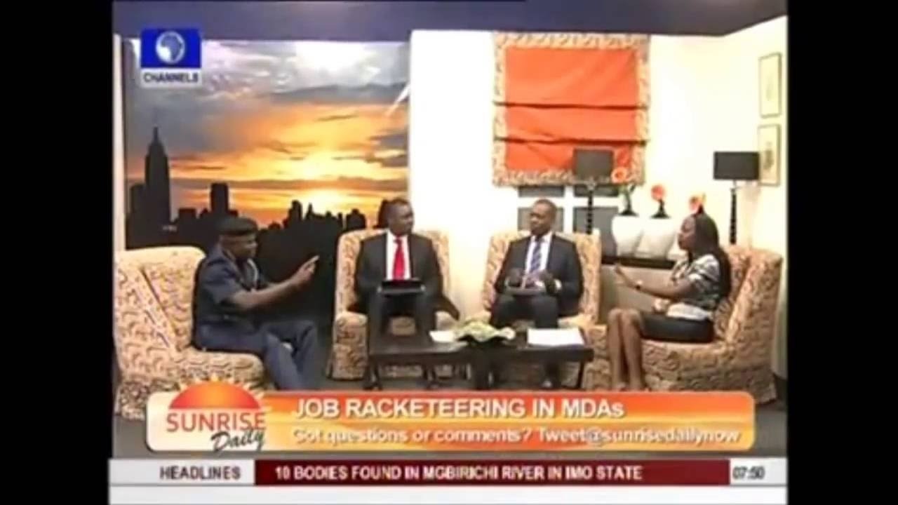 maupe ogun of channels tv forgot to wear bra on air youtube. Black Bedroom Furniture Sets. Home Design Ideas