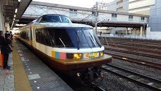 【回送】485系「NO.DO.KA」八王子駅到着~発車 '18.01.10